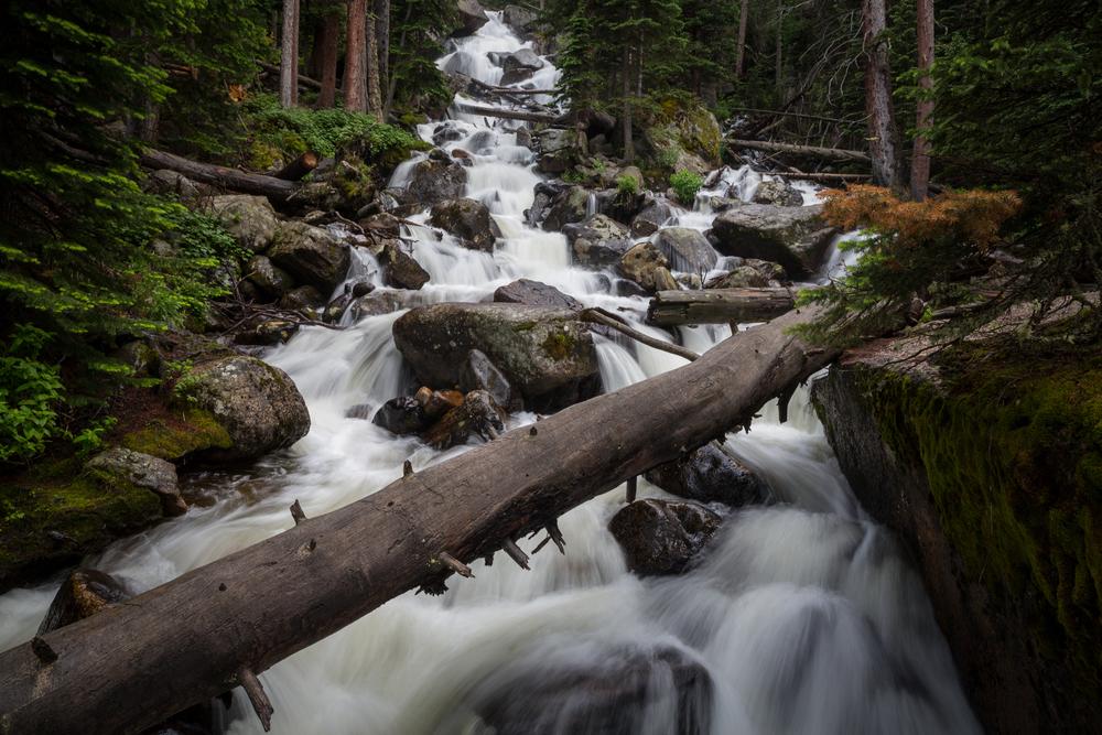 Calypso Cascades, Rocky Mountain National Park.