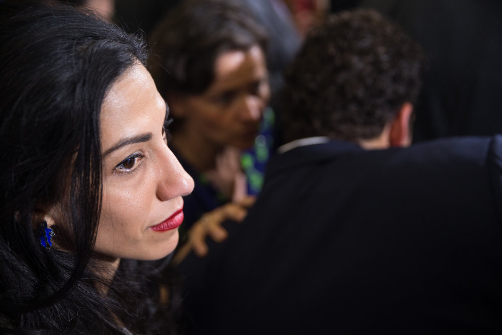 Huma Abedin, vice chairwoman of Clinton campaign.