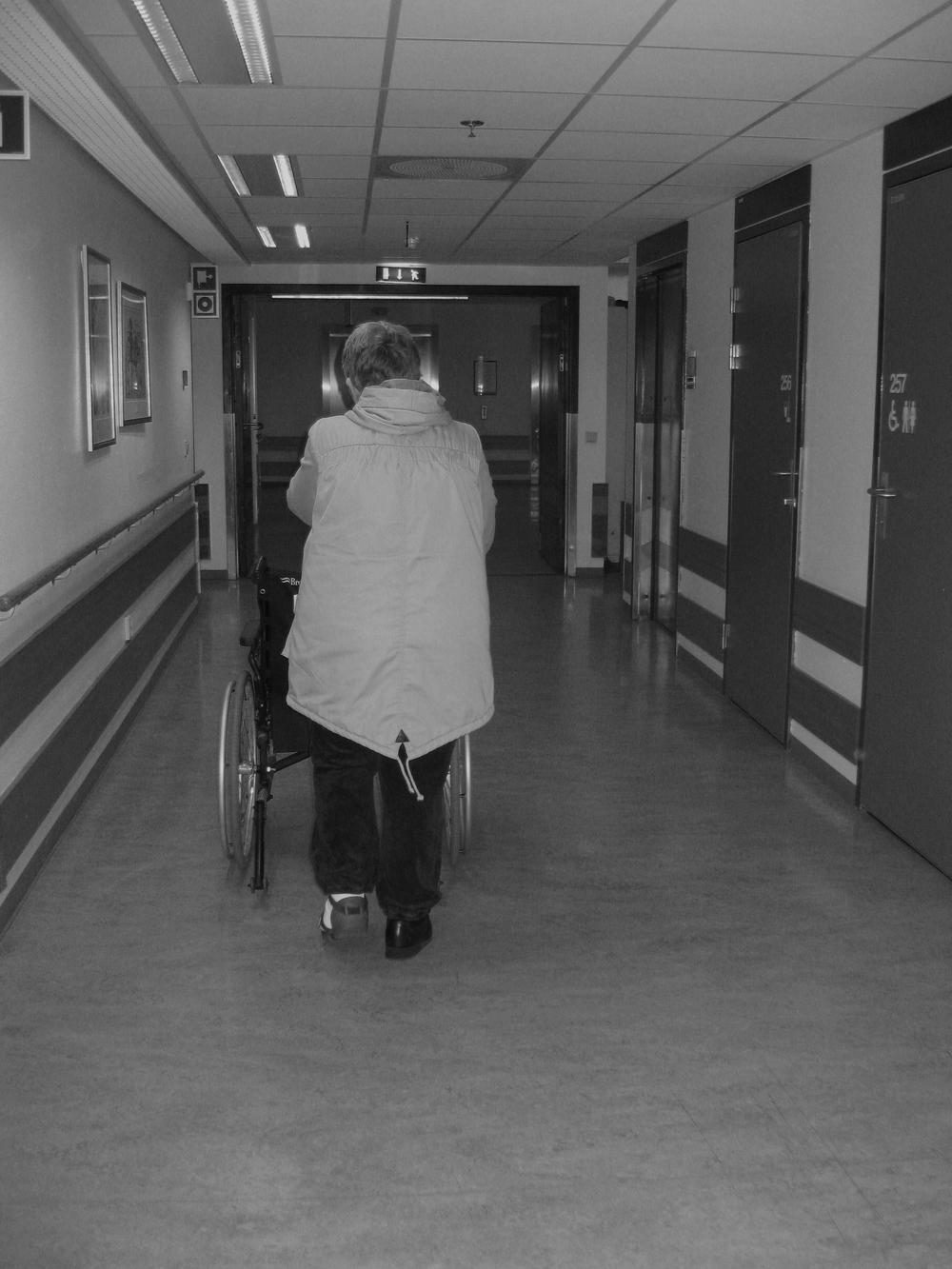 Marius Myrstad foreslår  en time gym til alle i sykehjem . Foto: Karin Magnusson, forskerlivet.no