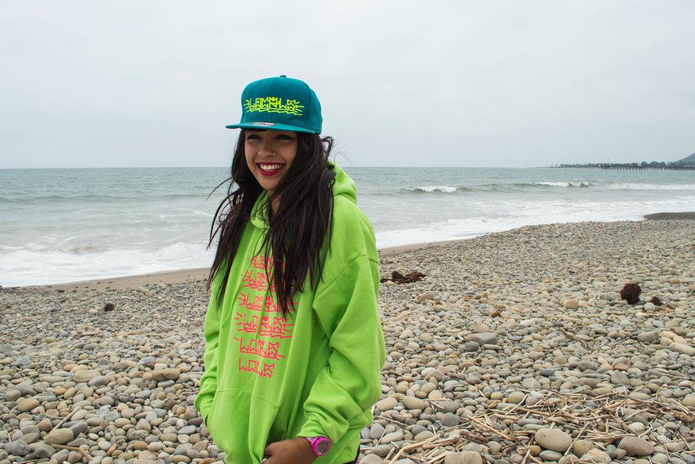 Kalin Locals Handstyle hat and hoodie.jpg