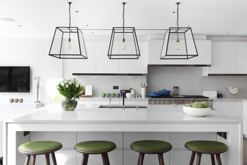 """Chelsea Town House I    This truly exceptional five bedroom house was previously the larger post war """"infill"""" half of 40 ft wide Victorian Terrace House. Planning permission was obtained to create a brand new single dwelling house........."""