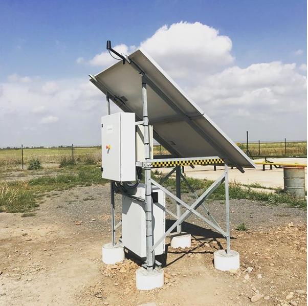 Installation solaire photovoltaïque ATEX econosol