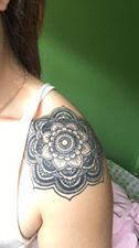 Erika Paige tattoo