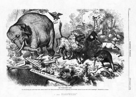 "thomas nast ""third term panic"""