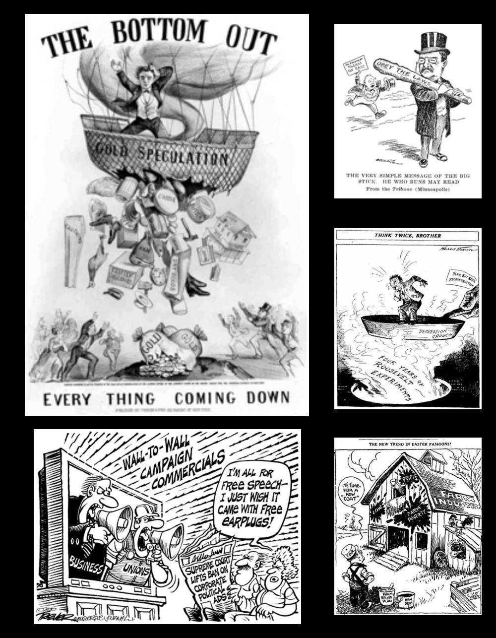 economy collage