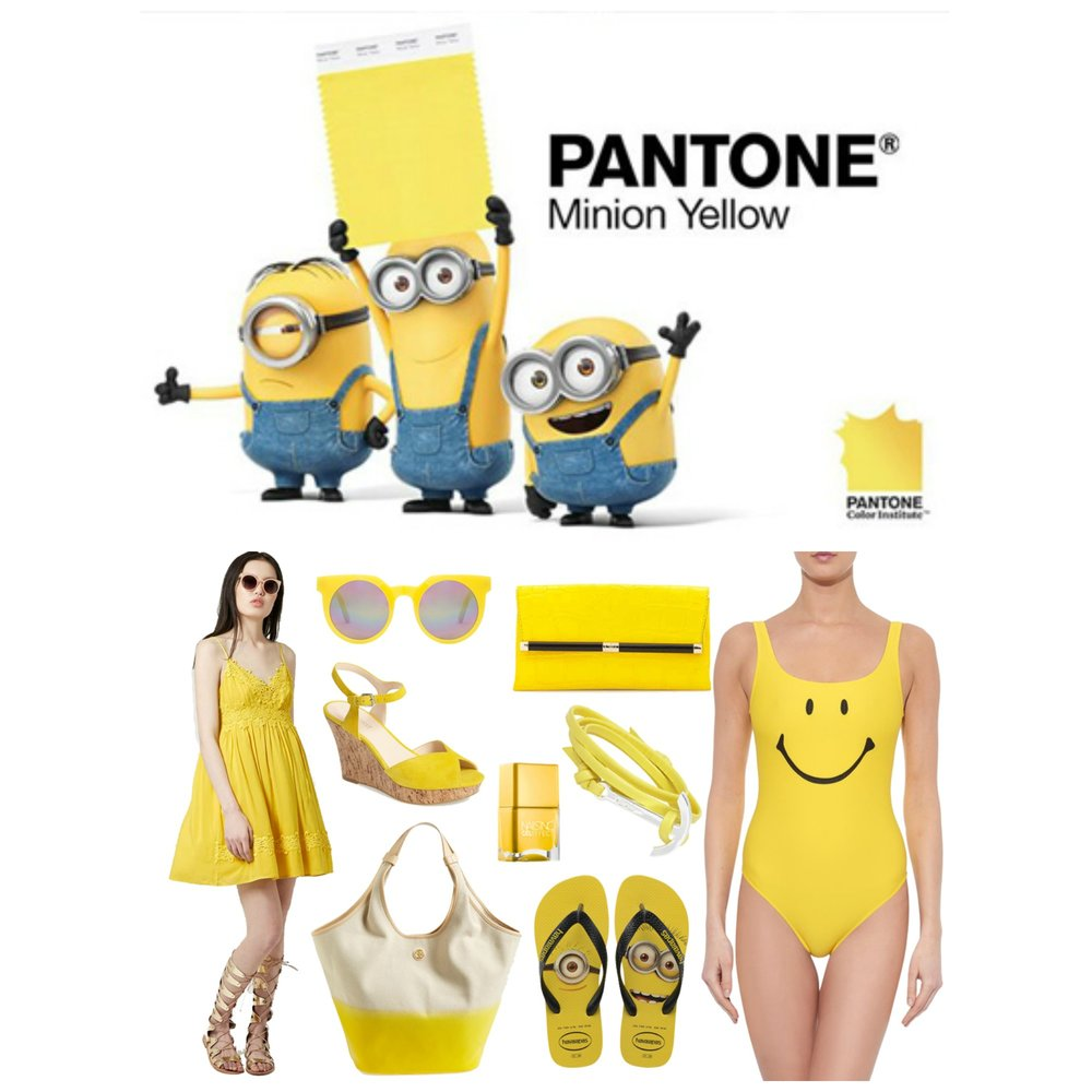 minion yellow colalge