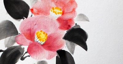 camellia_sumi-e_fumiyo_yoshikawa_2013c