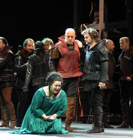 Azucena in  Il trovatore    Opéra Royal de Wallonie, 2011
