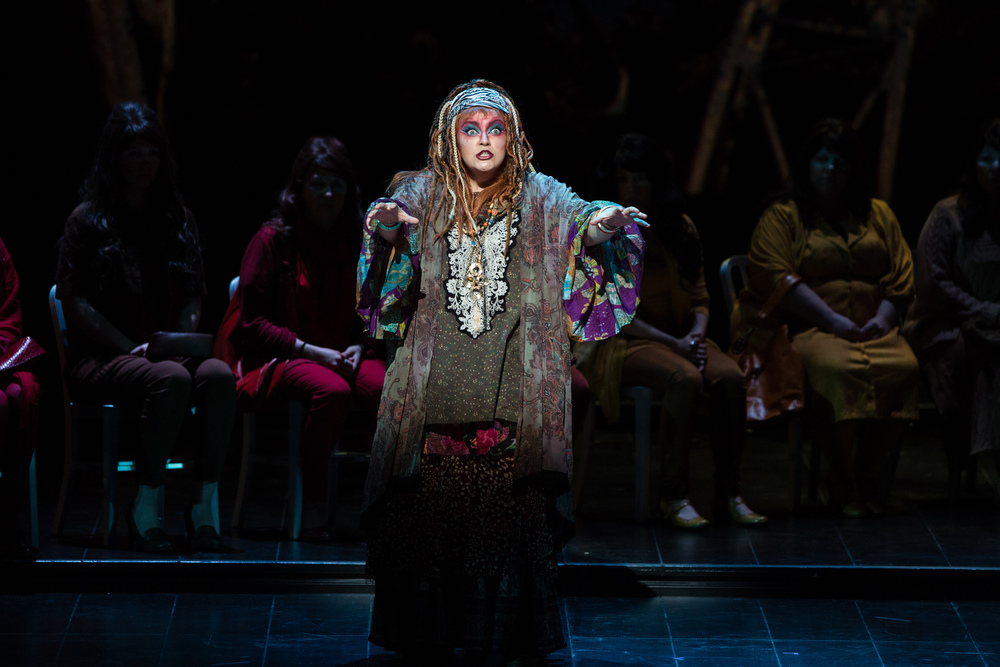 Ulrica Arvidson in   Un ballo in maschera    Austin Lyric Opera, 2014