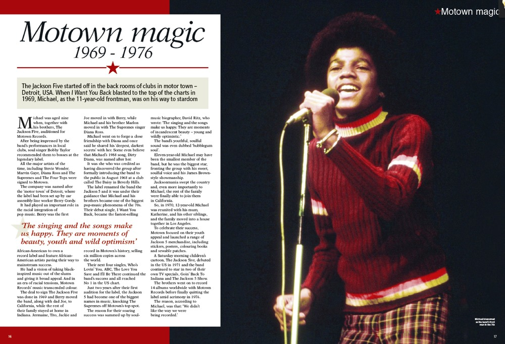 Michael Jackson tribute magazine, Hearst Magazines UK
