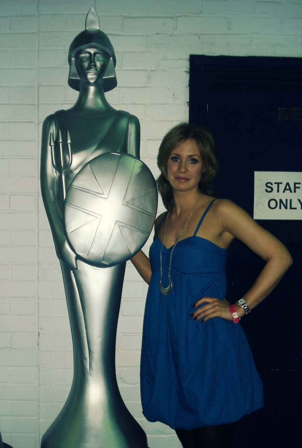 Brit Award and Ros.jpg