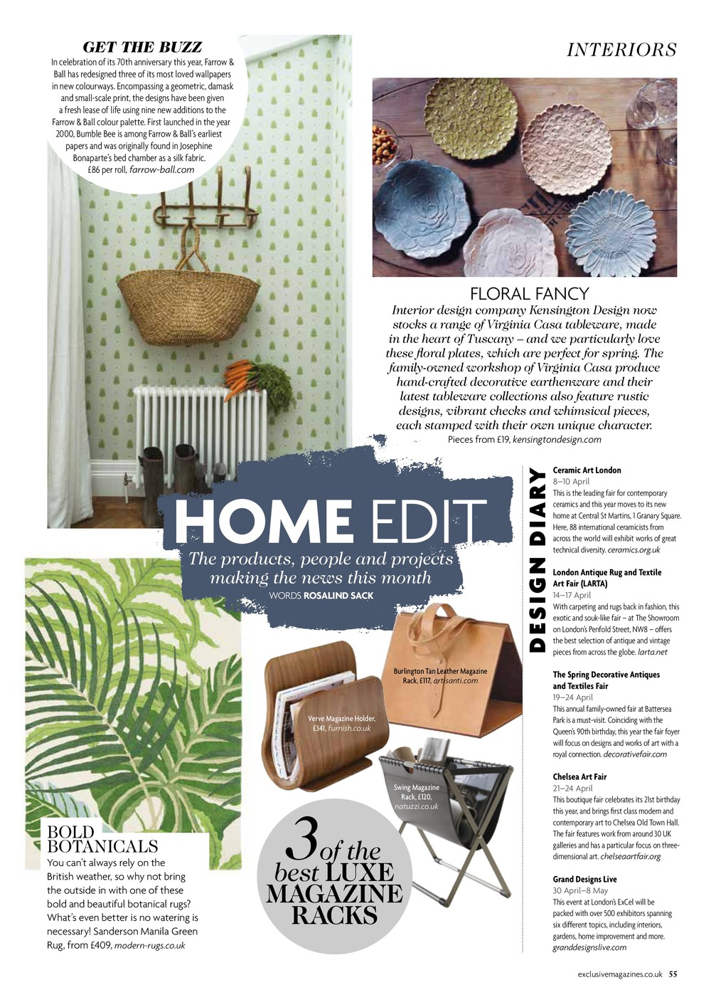 Home Edit, Exclusive Magazine