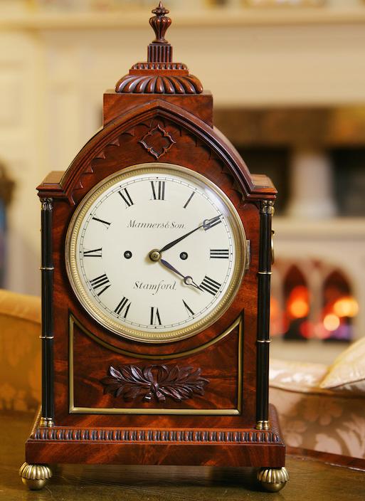 A very fine William IV Bracket Clock