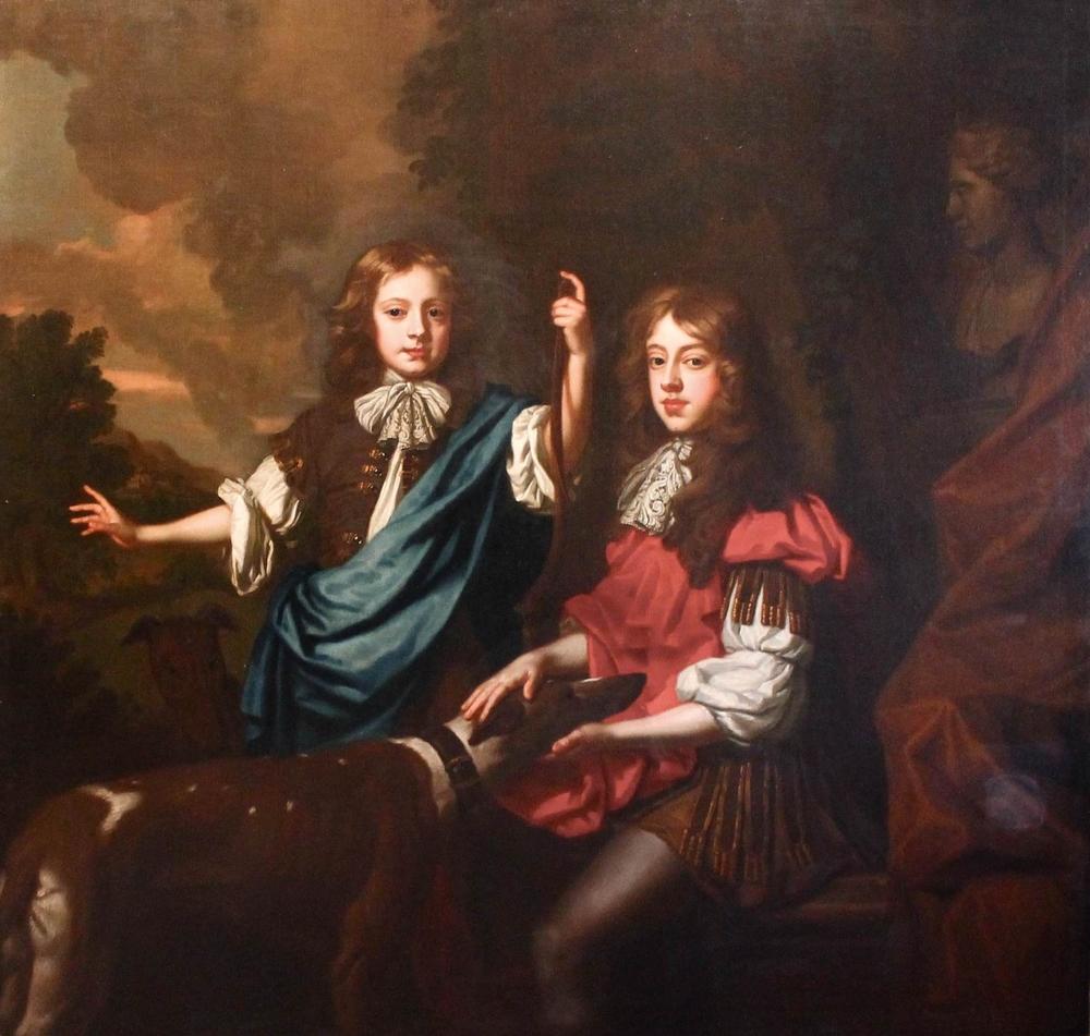 William Wissing (1656-1687) The Lennard Double Portrait c.1675