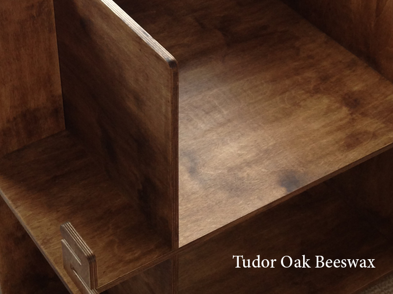 select image to ENLARGE The wood's golden hues are accentuated with a Tudor Oak beeswax finish.