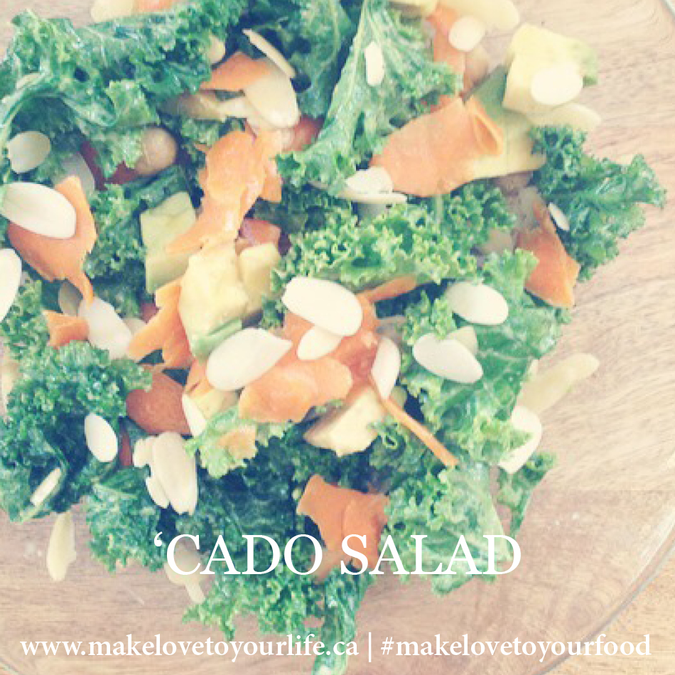 'Cado Salad | MakeLoveToYourLife.ca
