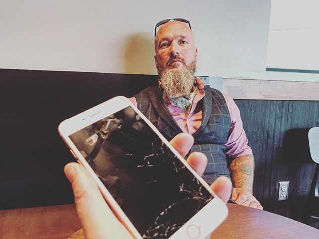 Kick off the day and get your iPhone repaired. Don't spend any more time than you have to with a screen that's shattered! My service comes to your home, office or a close coffee shop for repair on YOUR schedule! Call/iMessage 502-415-6347 or schedule at ProntoiPhone.com! #Louisville #Kentucky #Repair #Fast