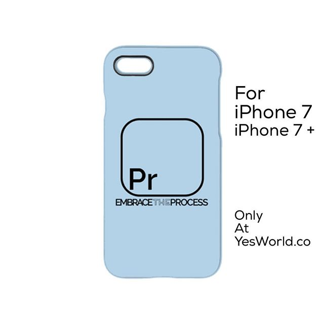 The process in life is where the magic happens. It's not in the results or the finish. Learn to love the process and you'll find happiness and fulfillment in whatever you do. Love this #iPhone7 case from our friends at @YesBrands! Check it out at YesWorld.co! #InspireTheWorld #IPhone #Case #Protection #DropTest #Process #PositiveVibes