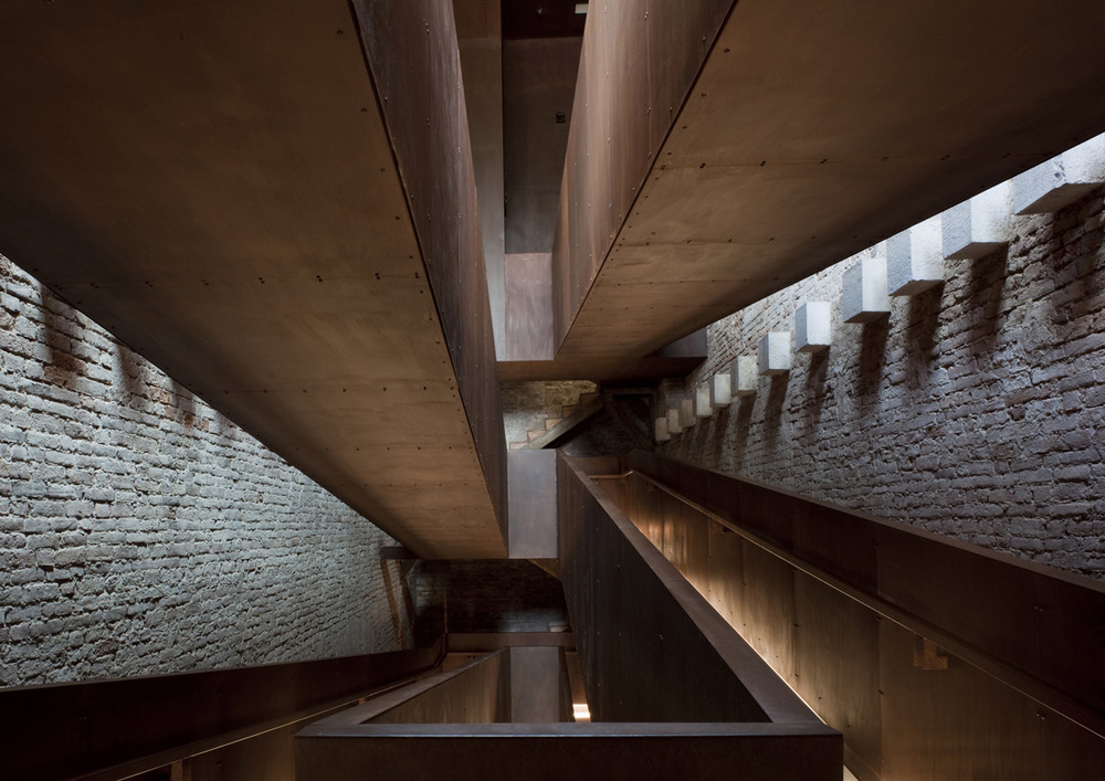 Progetto di recupero della Torre di Porta Nuova,Arsenale di Venezia—photo Alessandra Chemollo © ORCH/Chemollo