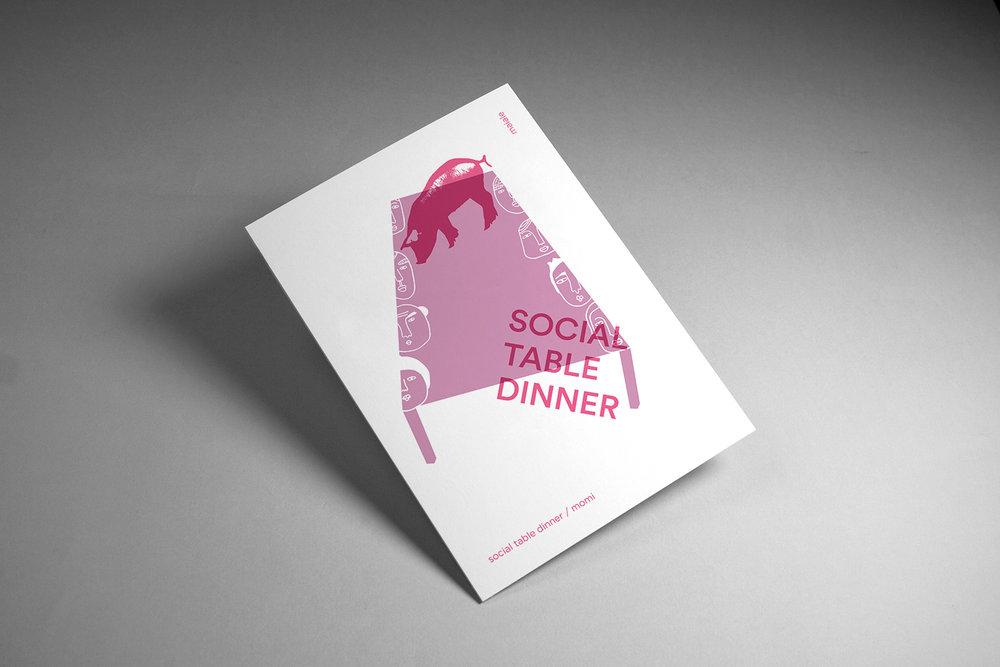 Flyer Momi Social Table #4