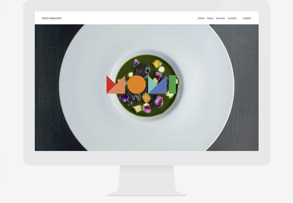 momi restaurant web