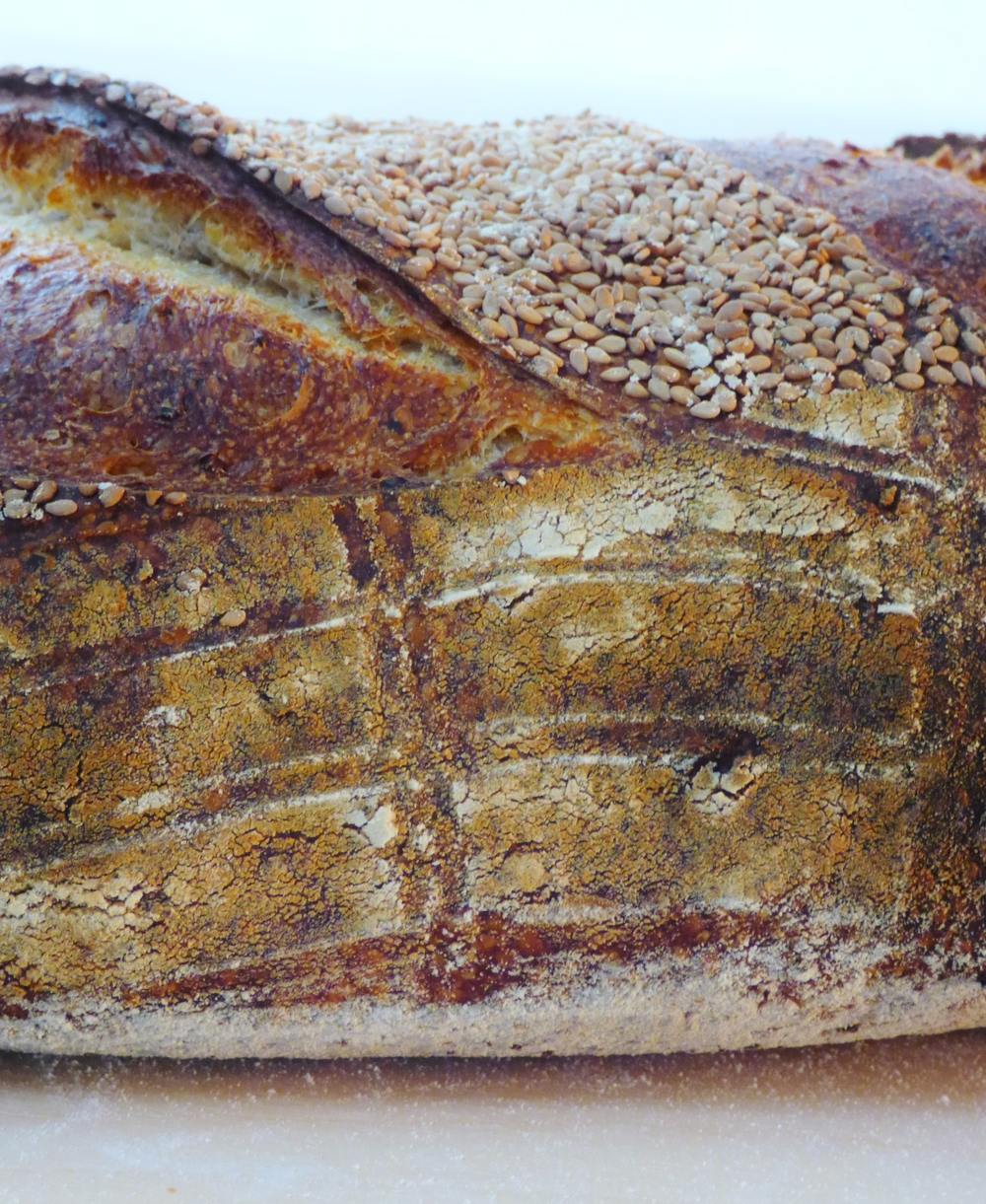 Sesame Sourdough