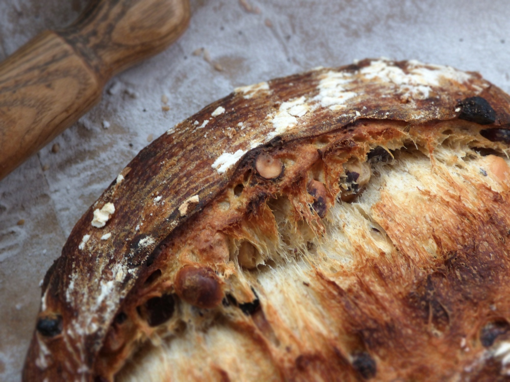 Raisin Hazelnut Levain