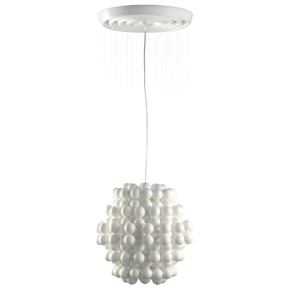 Ball Type F  Taklampa av Verner Panton.   Lagerstatus: I lager.