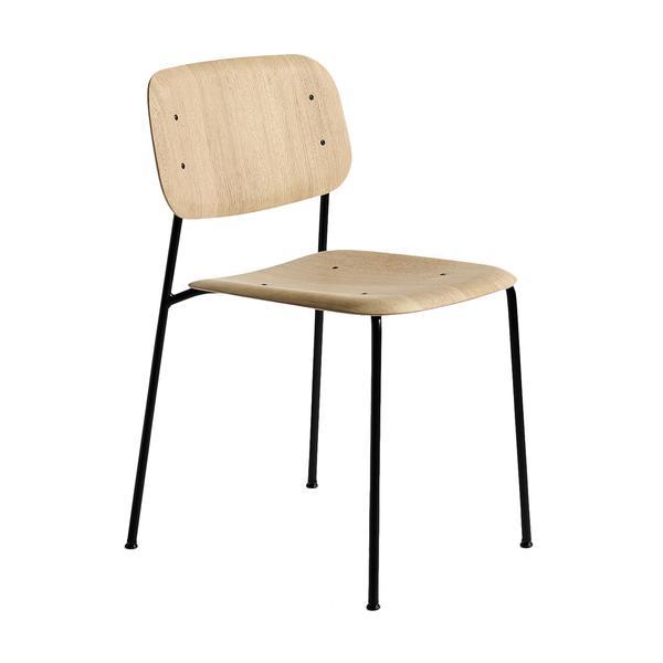 Soft Edge chair HAY   Ljus vit oljad ask, pulverlackade ben. L50cm W 54,5 cm H 78,8 cm   Lagerstatus: I lager