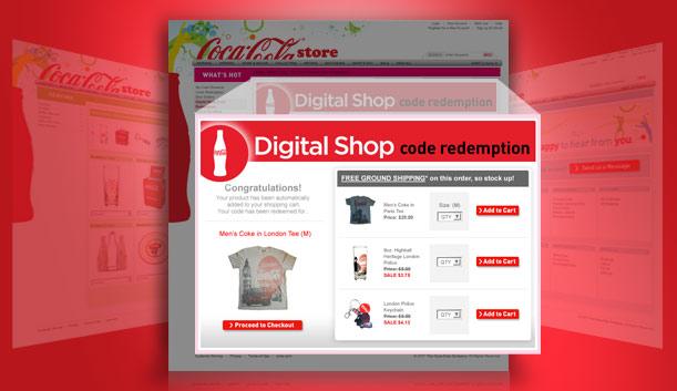 Digital Shop for My Coke Rewards