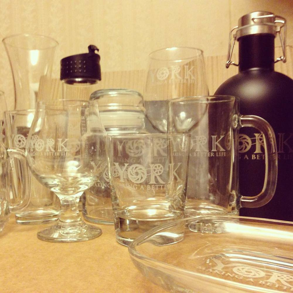 High-quality items engraved by Susquehanna Glass now available to order!
