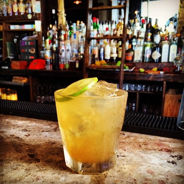 Cocktail o' the Week - World Cup Edition: The Golden Goal... Cachaca, Pineapple, Brown Sugar, Lime