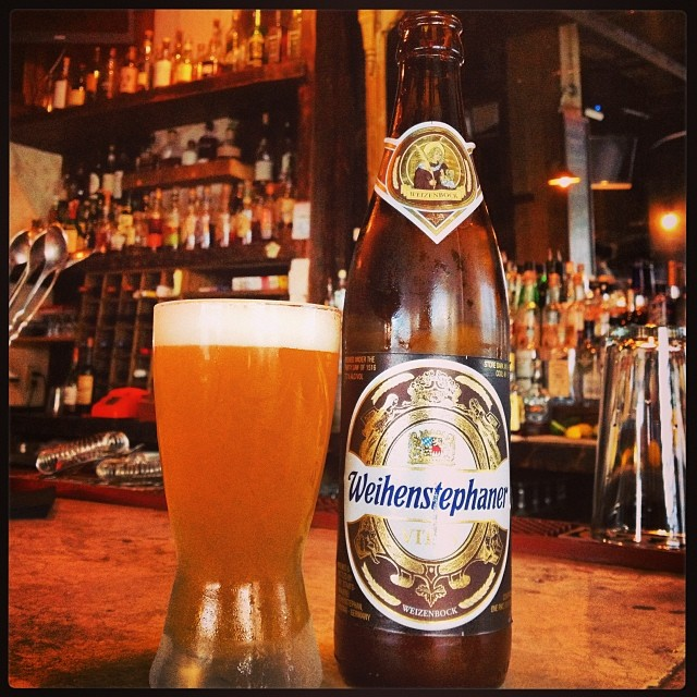 Just In: Weihenstephaner Vitus, a Weizenbock from the oldest brewery in the world, 7.7%, Awesome #thecornersbeers