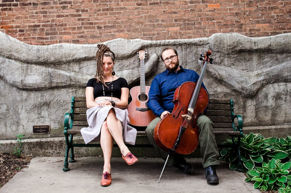 Abigail Stauffer and Dave the Cellist - Neo-Folk Soul… with some jazz cello