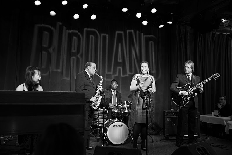 Performing with the Lou Donaldson Quartet @ Birdland NYC