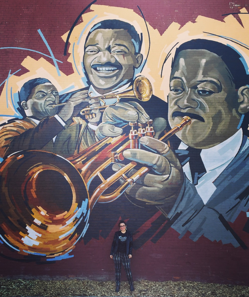 Champian at Clark Terry Mural.JPG