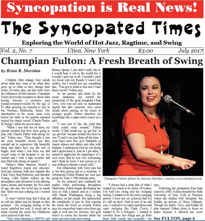 front page of syncopated times.JPG