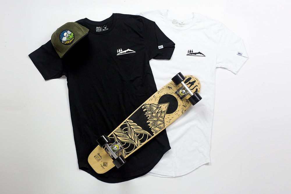 New essential drop tail tees.