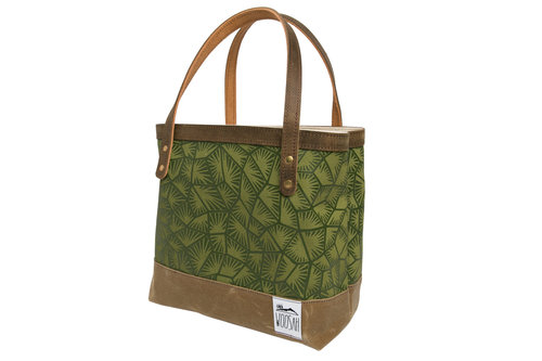 7e190cf02a26 Green Chatter Tote — Woosah Outfitters
