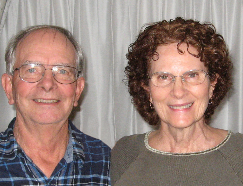 Stan & Patty Gibson - serving with Wycliff in Papua New Guinea