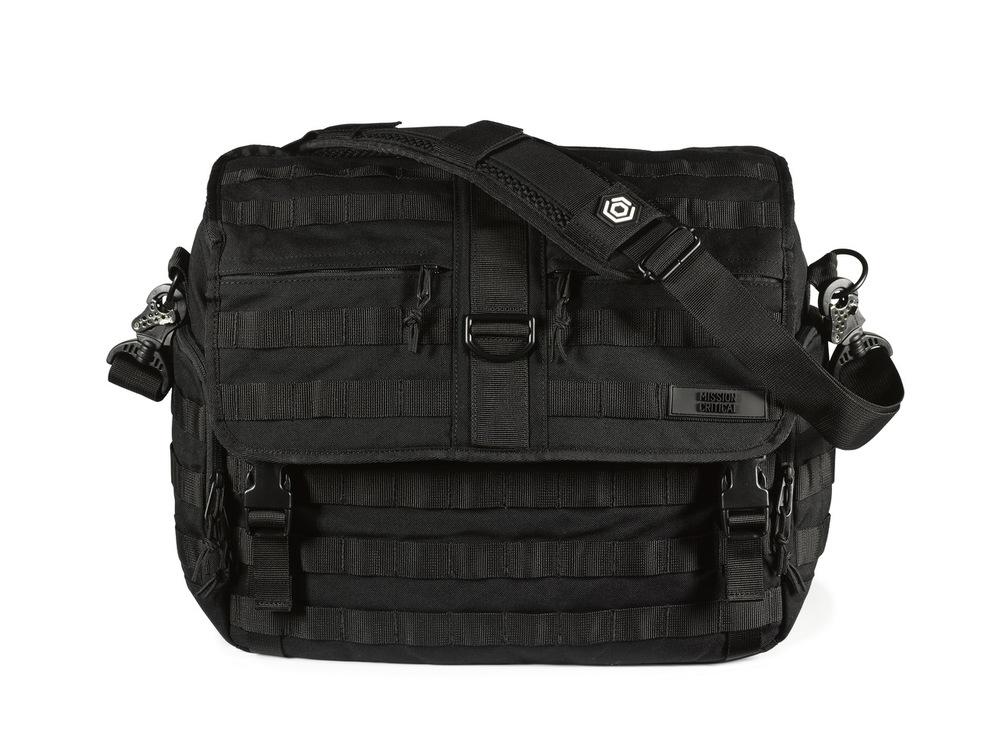 Mission Critical Messenger Diaper Bag