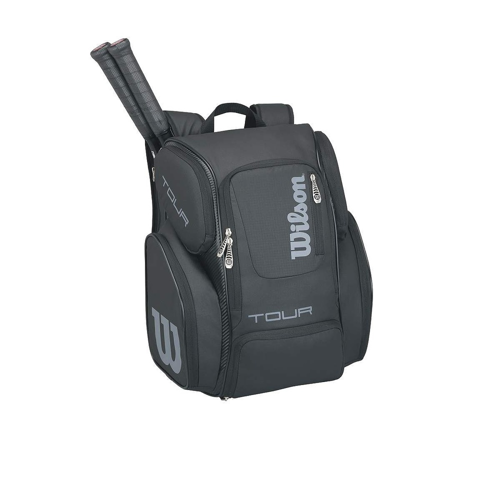 Wilson Tour Black Large Backpack