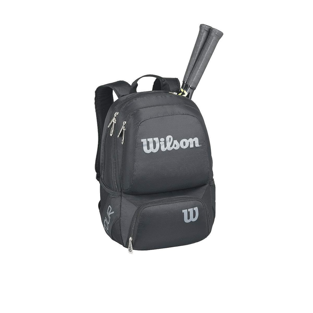 Wilson Tour Black Medium Backpack