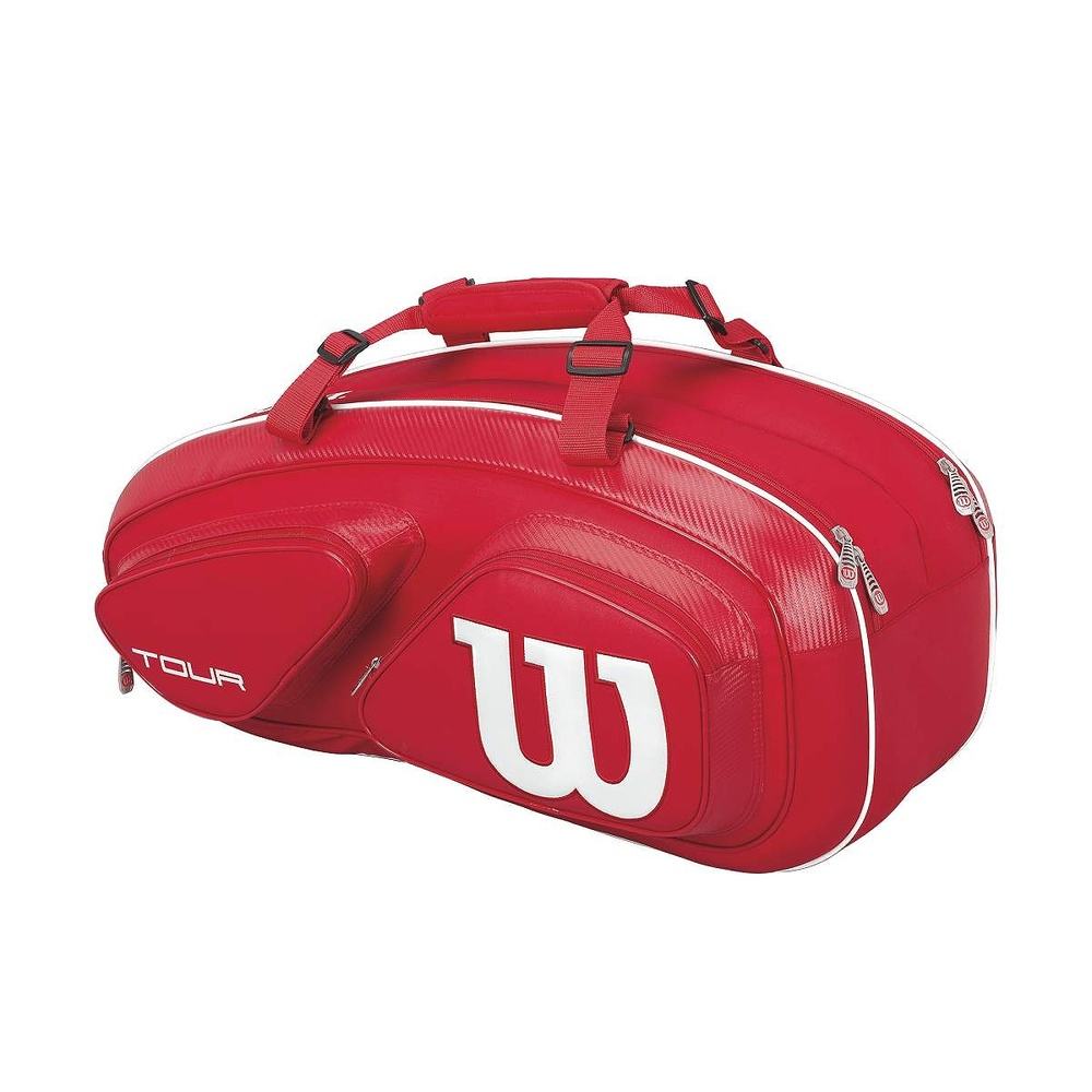 Wilson Tour Red 9 pack