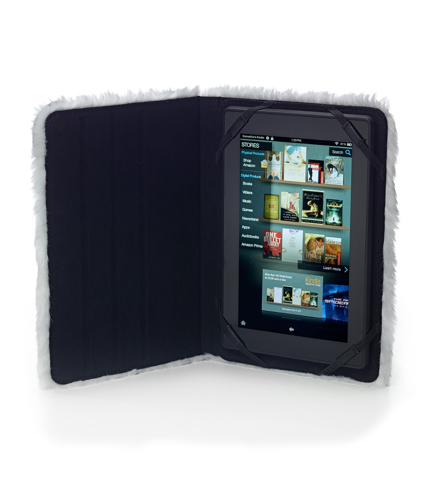 "Studio C Wild Fur You 8"" Universal Tablet Case"