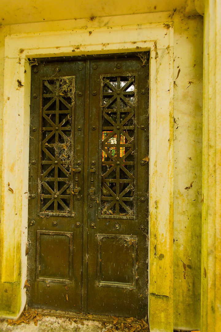 Howey House Mausoleum Door