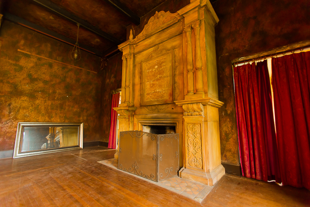 Howey House Fireplace