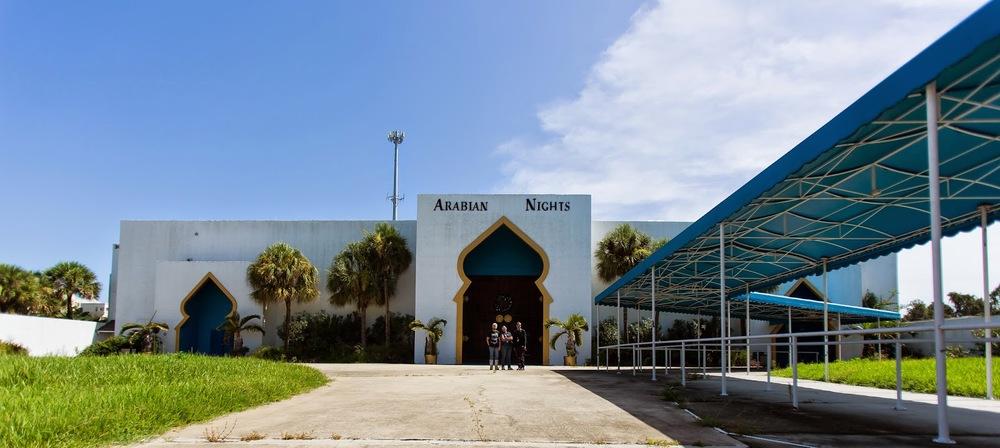 Arabian Nights Kissimmee Outside Entrance