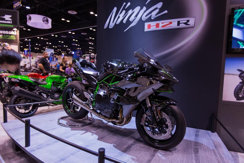 AIM Expo - Kawasaki Ninja H2R