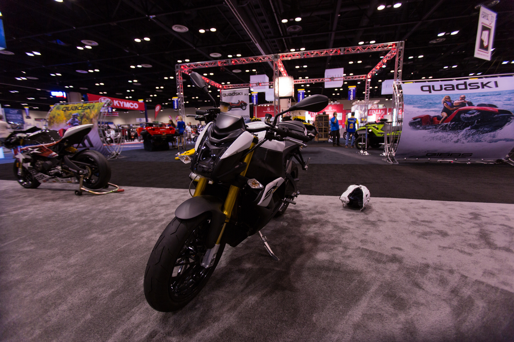 AIM Expo - Buell 1190 SX Front